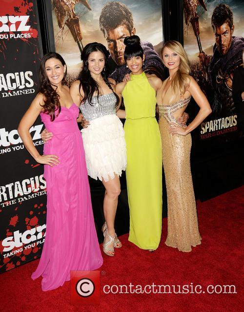 Katrina Law, Jenna Lind, Cynthia Addai-robinson and And Ellen Hollman 8