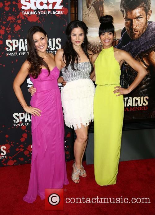 Jenna Lind, Katrina Law and Cynthia Addai-robinson 10