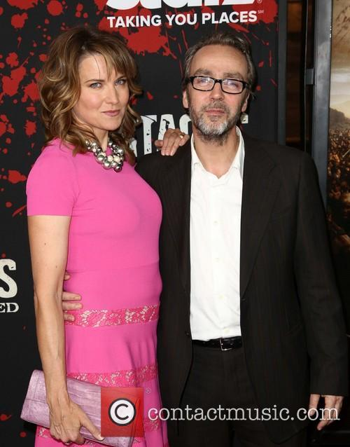 Lucy Lawless and John Hannah