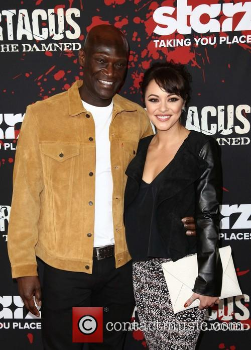 Peter Mensah and Marisa Ramirez 5