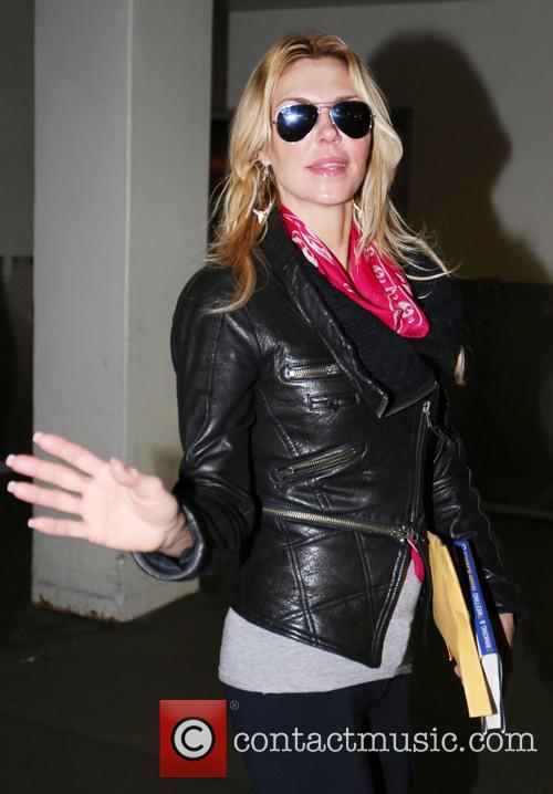 brandi glanville celebrities arriving at lax airport 3462931