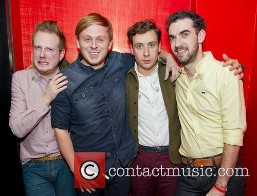 Alex Trimble, Ben Thompson, Sam Halliday, Kevin Baird, Two Door Cinema Club, Baroque Mayfair