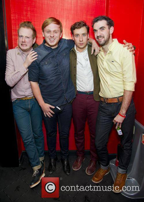 Alex Trimble, Ben Thompson, Sam Halliday, Kevin Baird and Two Door Cinema Club 5