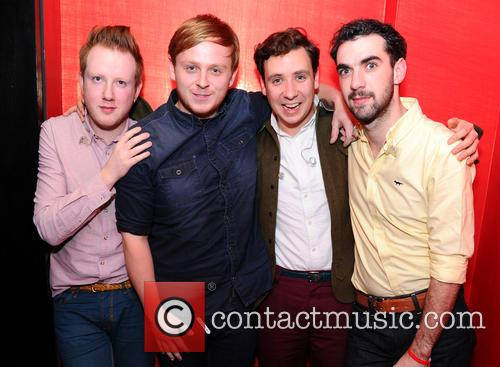 Alex Trimble, Ben Thompson, Sam Halliday, Kevin Baird and Two Door Cinema Club 9
