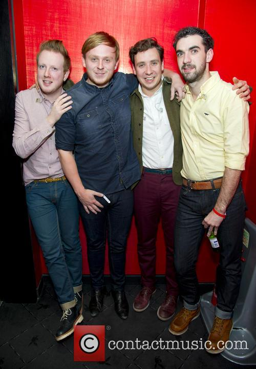 Alex Trimble, Ben Thompson, Sam Halliday and Kevin Baird 11