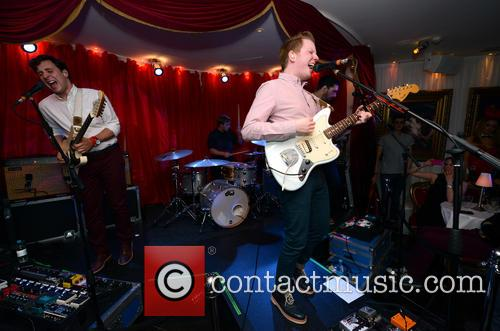 Two Door Cinema Club performing at Baroque Mayfair