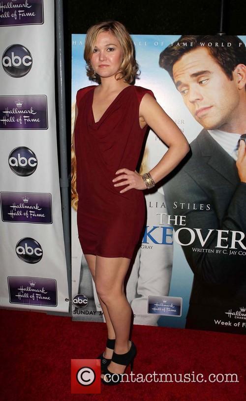 julia stiles the premiere of disney abc television 3463068