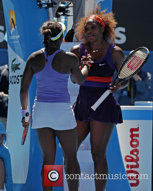 Serena Williams and Sloane Stephens 2
