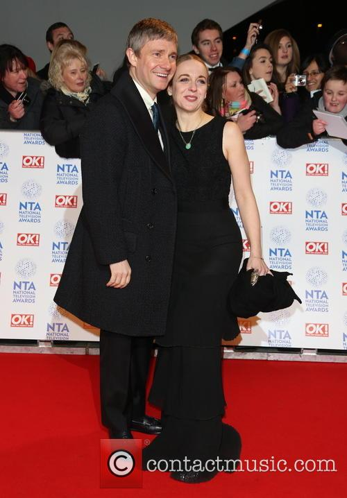Martin Freeman and Amanda Abbington 1