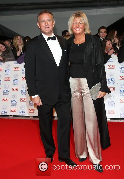 Hugh Bonneville and Wife 1