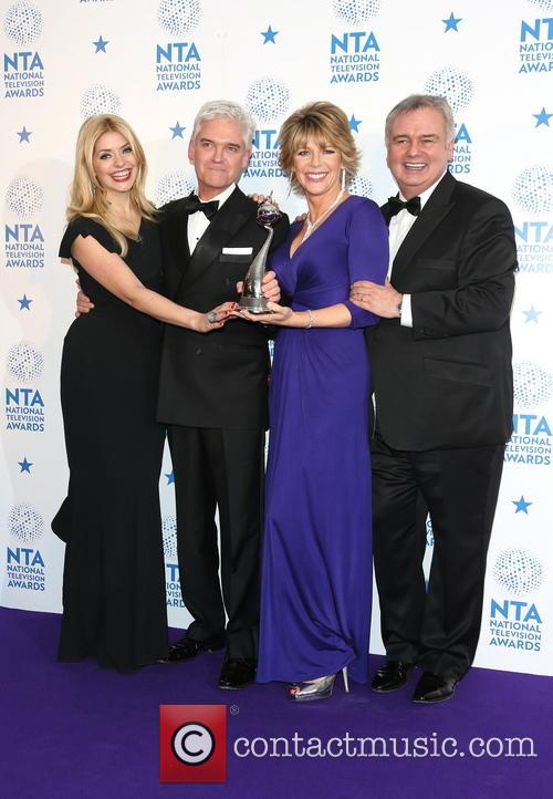 Holly Willoughby, And Phillip Schofield, Ruth Langsford and Eamonn Holmes 4
