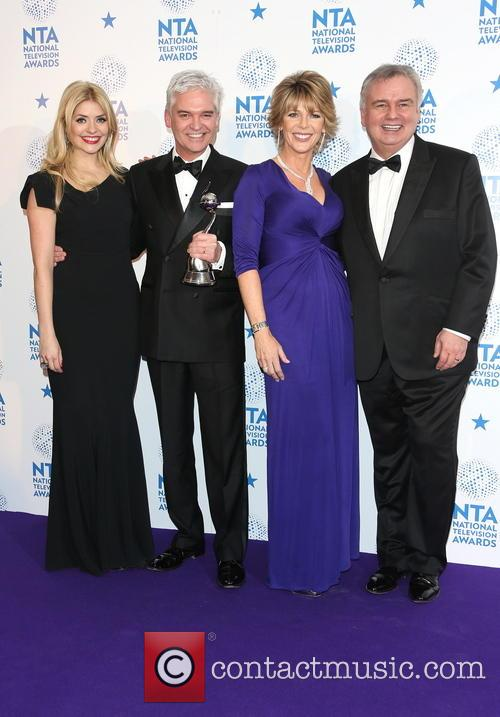 Holly Willoughby, And Phillip Schofield, Ruth Langsford and Eamonn Holmes 1