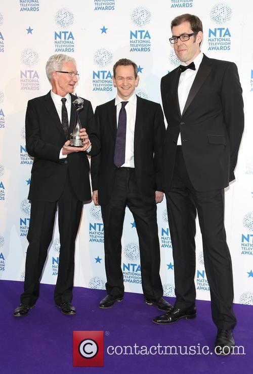 Paul O'Grady, Alexander Armstrong and Richard Osman 1