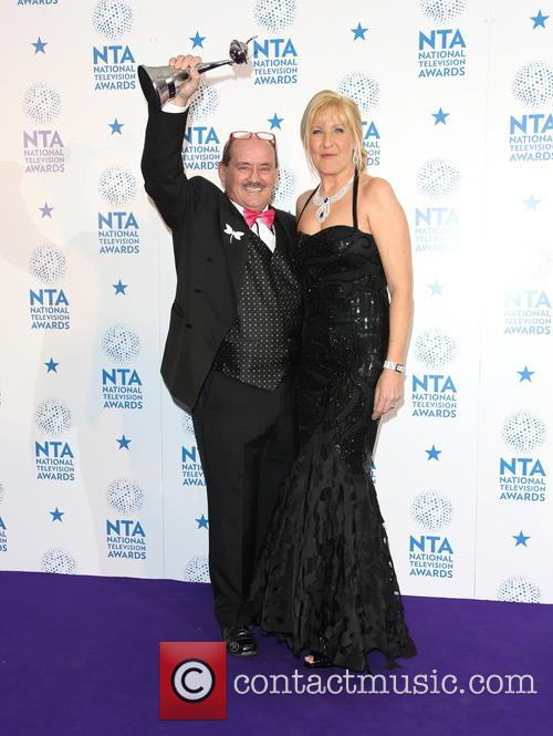 Brendan O'carroll and Jennifer Gibney Of Mrs Brown's Boys 3