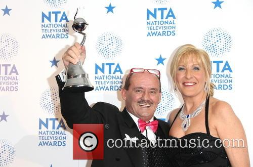 Brendan O'Carroll, Jennifer Gibney, National Television Awards