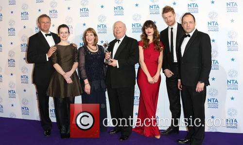 Hugh Bonneville, Sophie Mcshera, Phyllis Logan, Julian Fellowes, Lily James and Downton Abbey 2