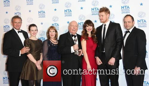 Hugh Bonneville, Sophie Mcshera, Phyllis Logan, Julian Fellowes, Lily James and Downton Abbey 3