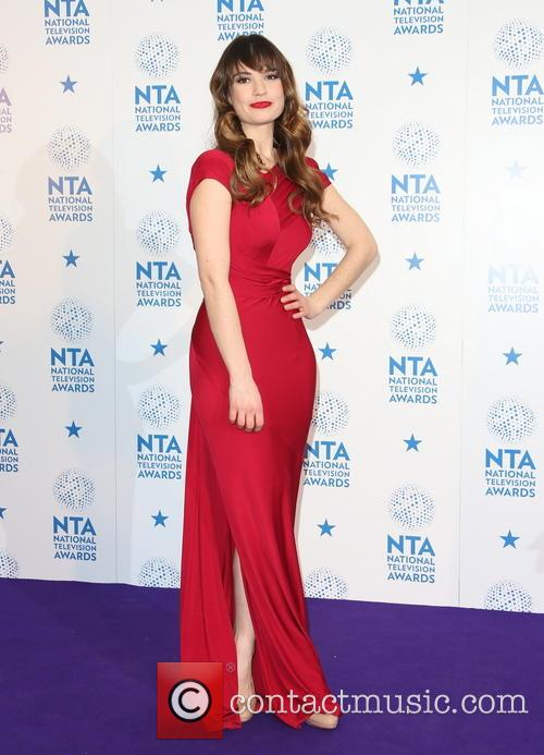 lily james national television awards press room 3464318