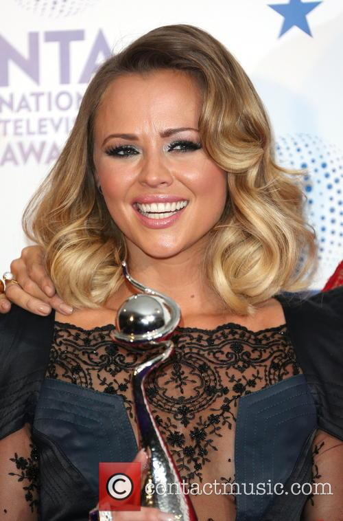 kimberley walsh national television awards press room 3464397