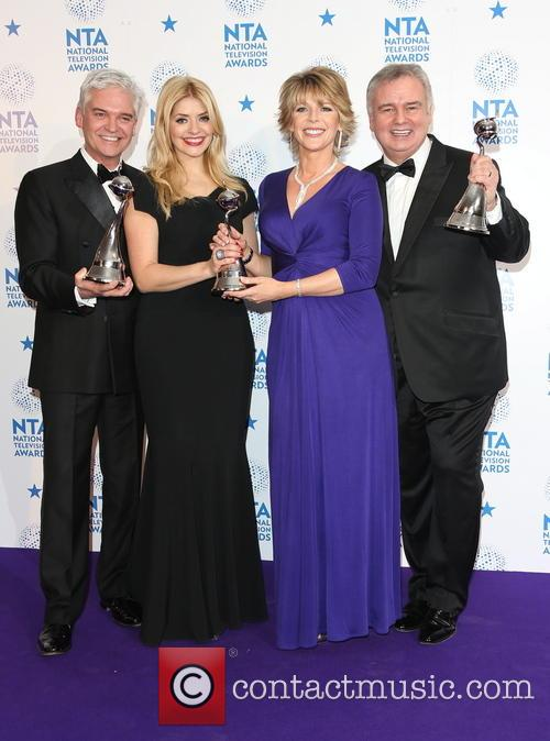 Holly Willoughby, Phillip Schofield, Ruth Langsford and Eamonn Holmes 7
