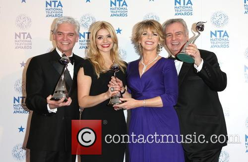 Holly Willoughby, Phillip Schofield, Ruth Langsford and Eamonn Holmes 8