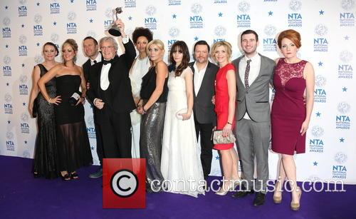 Michelle Collins, William Roache Mbe, Jenni Mcalpine, Alan Halsall, Andy Whyment, Natalie Gumede and Other Cast Members Of Coronation Street 2