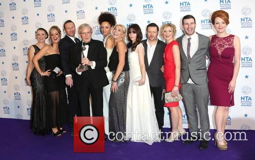 Michelle Collins, William Roache, Jenni Mcalpine, Alan Halsall, Andy Whyment, Natalie Gumede and Coronation Street 3