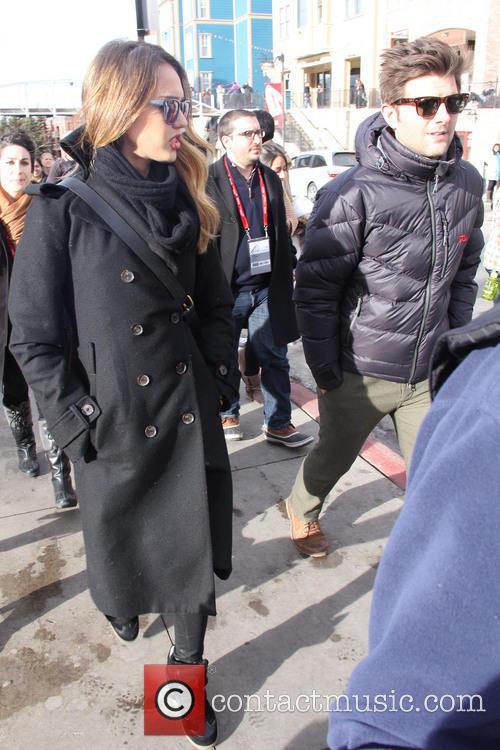 Jessica Alba and Adam Scott 9
