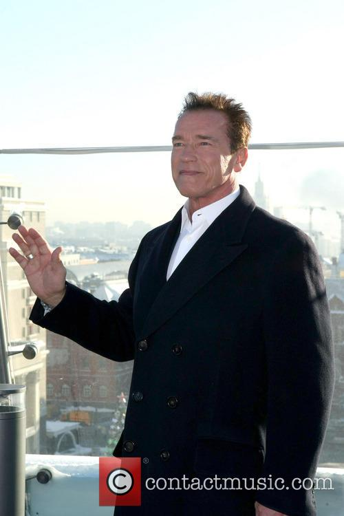 arnold schwarzenegger the last stand photocall 3463643