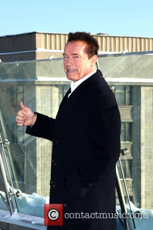 Arnold Schwarzenegger, The Last Stand Photocall