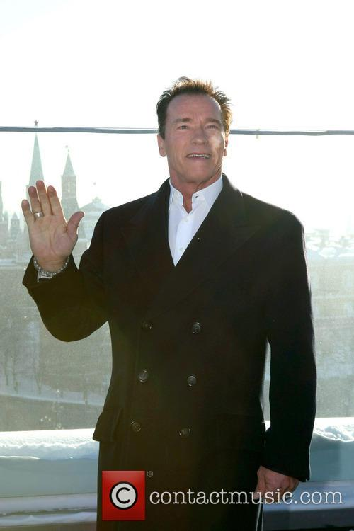 arnold schwarzenegger the last stand photocall 3463661