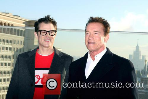 Johnny Knoxville and Arnold Schwarzenegger 8
