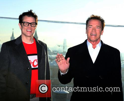Johnny Knoxville and Arnold Schwarzenegger 9