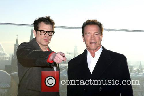 Johnny Knoxville and Arnold Schwarzenegger 10