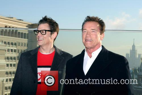 Johnny Knoxville and Arnold Schwarzenegger 5