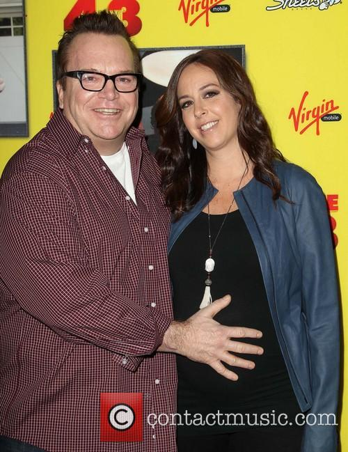 Tom Arnold and Ashley Groussman 2