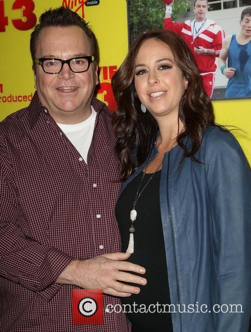 Tom Arnold and Ashley Groussman 1