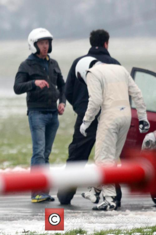 Damian Lewis and The Stig 8