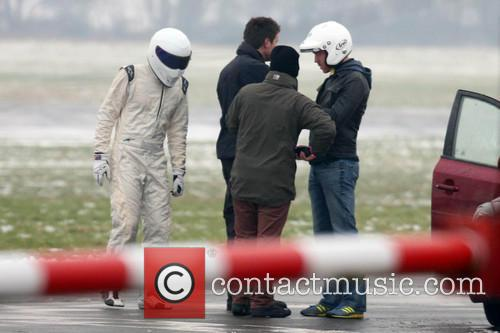 Damian Lewis and The Stig 9