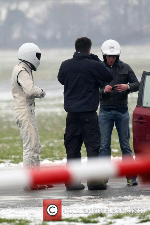 Damian Lewis and The Stig 10