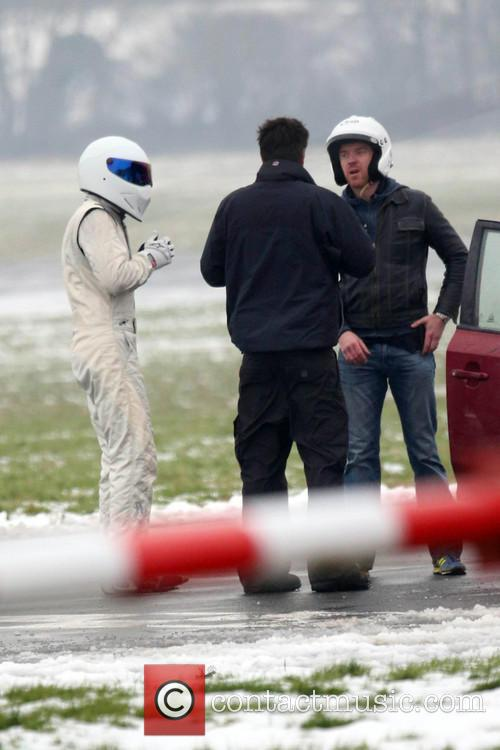 Damian Lewis and The Stig 11