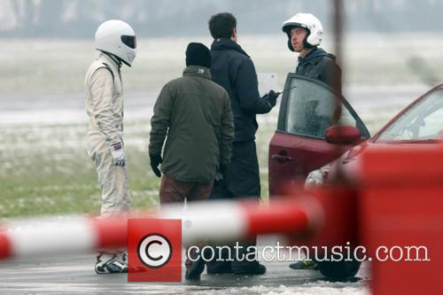 Damian Lewis and The Stig 1