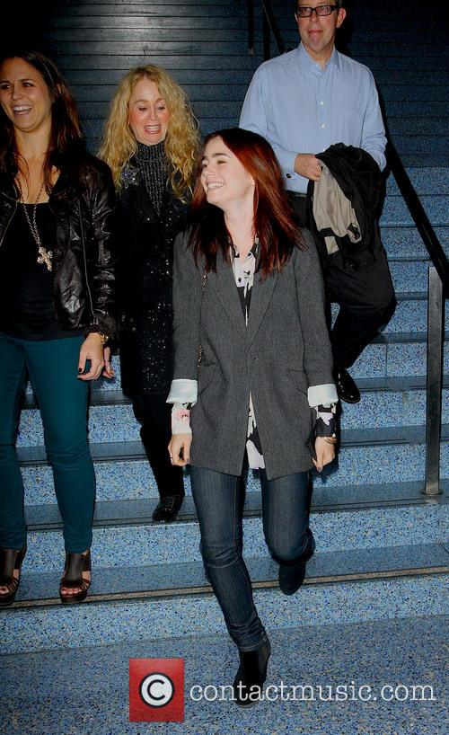 lily collins lily collins out and about 3465186