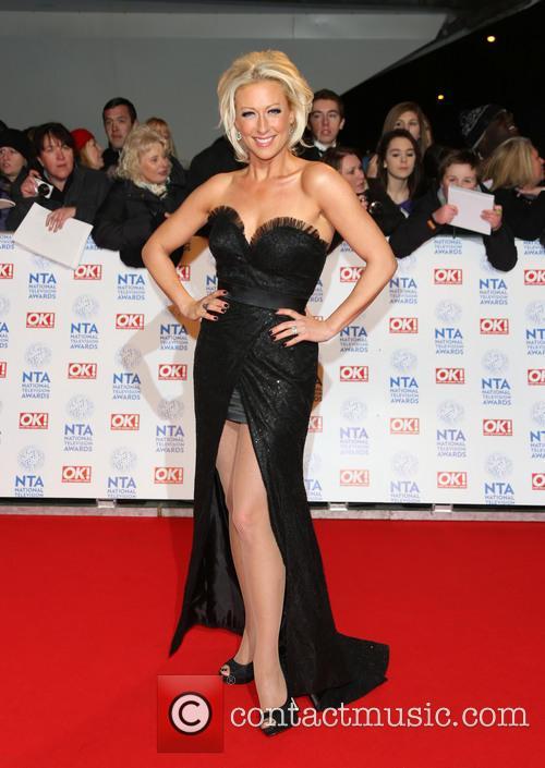 Faye Tozer, The National Television Awards, The O2 Arena