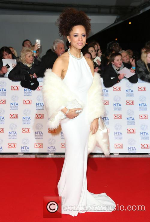 Natalie Gumede, The National Television Awards, The O2 Arena