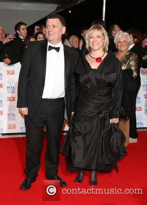 Steven Moffat, wife, The National Television Awards, The O2 Arena