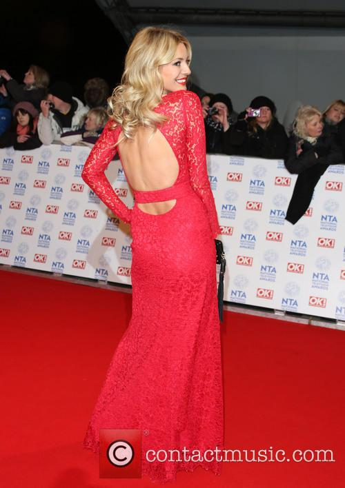 tess daly national television awards arrivals 3464911