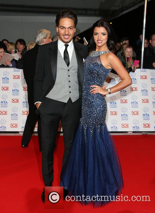 Mario Falcone and Lucy Mecklenburgh 5