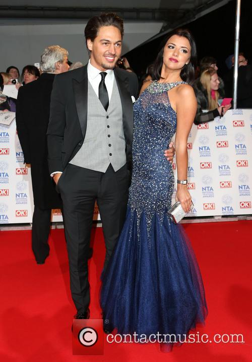 Mario Falcone and Lucy Mecklenburgh 1