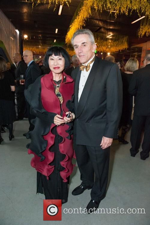 Amy Tan and Lou Demattei 2
